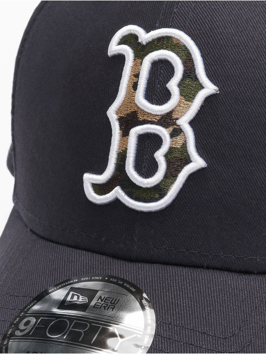 New Era Кепка с застёжкой Mlb Properties Boston Red Sox Camo Infill 9forty синий