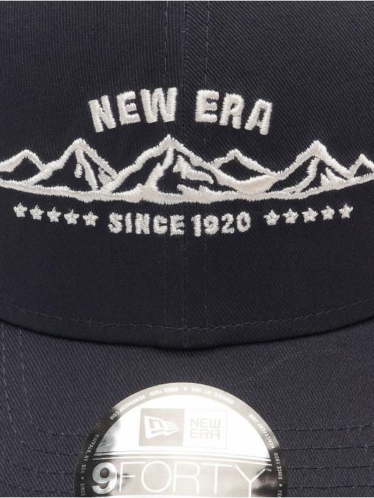 New Era Кепка с застёжкой NE Camp 9Forty синий