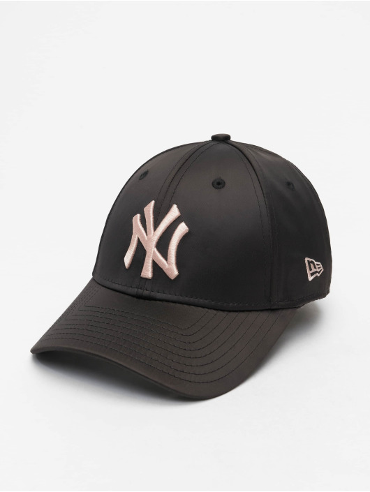 New Era Кепка с застёжкой MLB NY Yankees Satin 9Forty черный