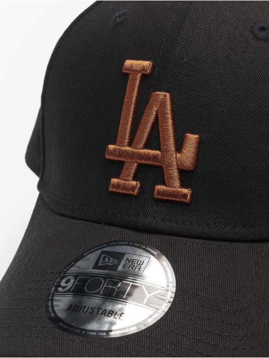New Era Кепка с застёжкой Mlb Properties Los Angeles Dodgers League Essential 9forty черный
