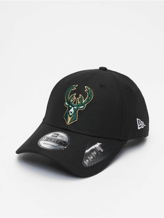 New Era Кепка с застёжкой Nba Properties Milwaukee Bucks Diamond Era 9forty черный