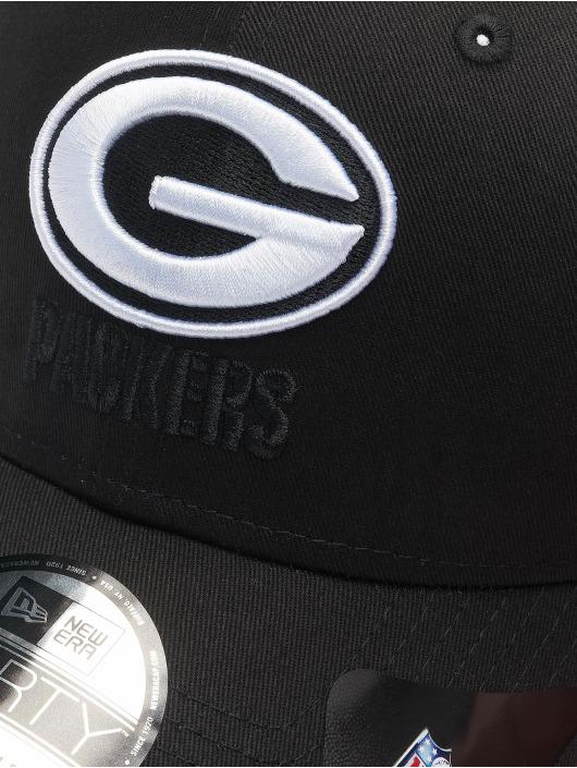 New Era Кепка с застёжкой Nfl Properties Green Bay Packers Black Base 9forty черный