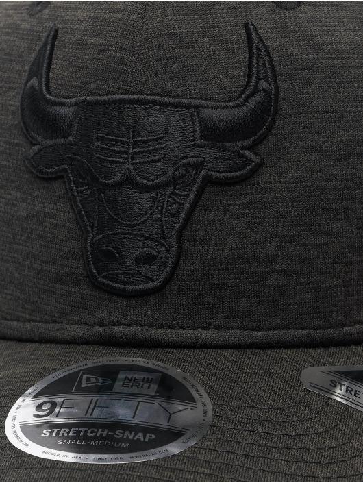 New Era Кепка с застёжкой NBA Chicago Bulls Tonal Team 9Fifty Stretch черный