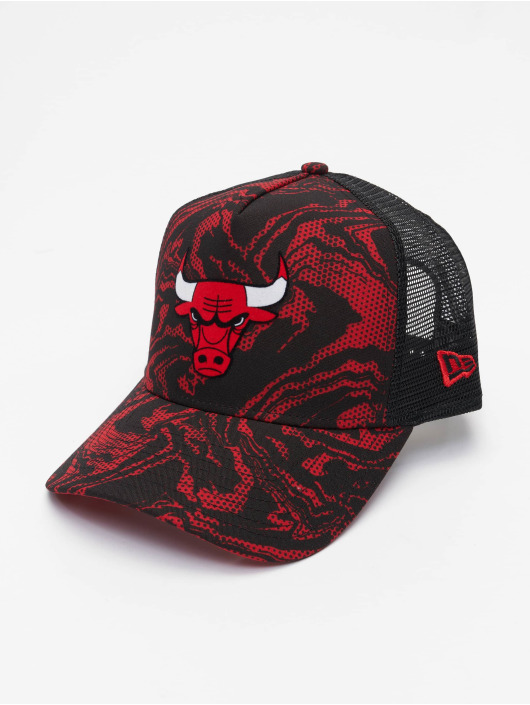 New Era Кепка тракер NBA Chicago Bulls Seasonal красный