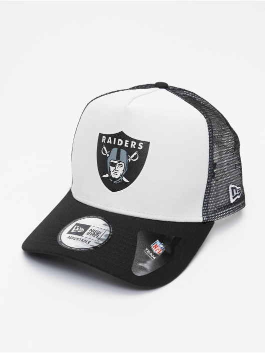 New Era Кепка тракер NFL Las Vegas Raiders Team Colour Block 940 AF серый
