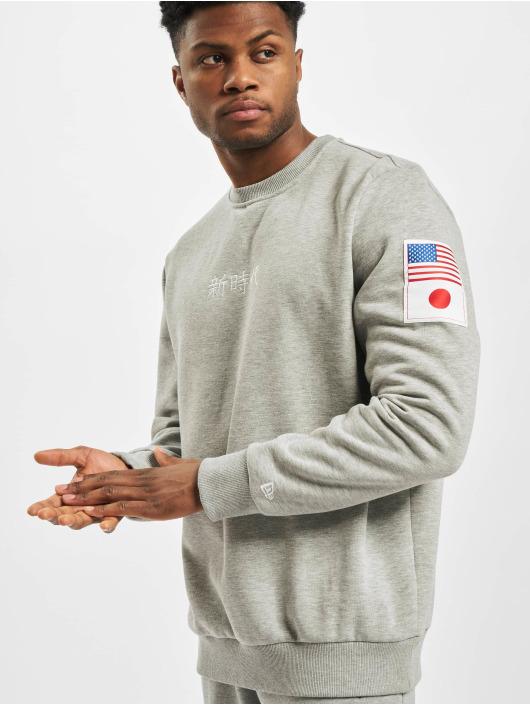 New Era Пуловер Far East серый