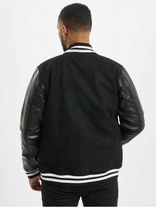 New Era Университетская куртка Image Varsity черный