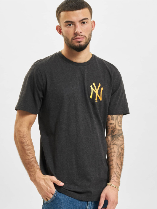 New Era Футболка MLB New York Yankees серый