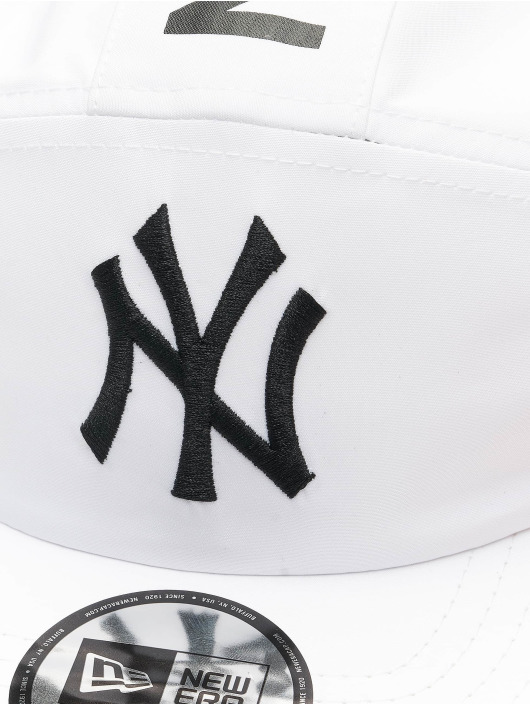 New Era 5 Panel Caps MLB NY Yankees Camper biela