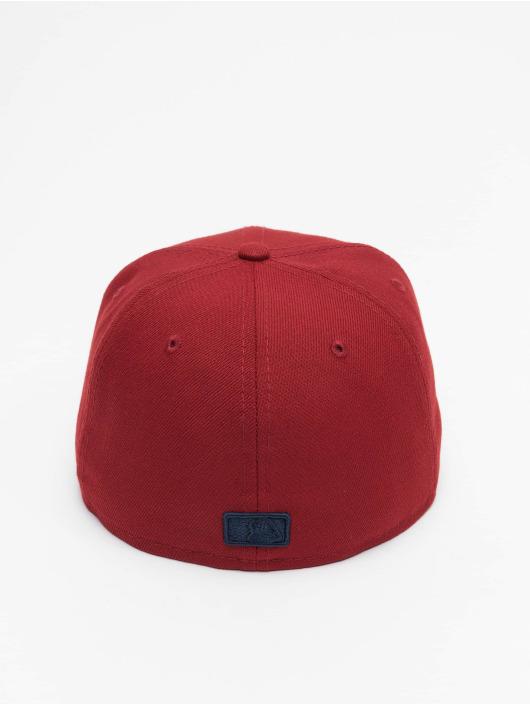 New Era Baseballkeps MLB Los Angeles Dodgers League Essential 59Fifty röd
