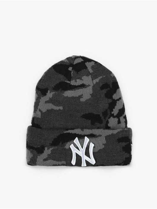 New Era Beanie MLB NY Yankees Essential Camo Knit grey