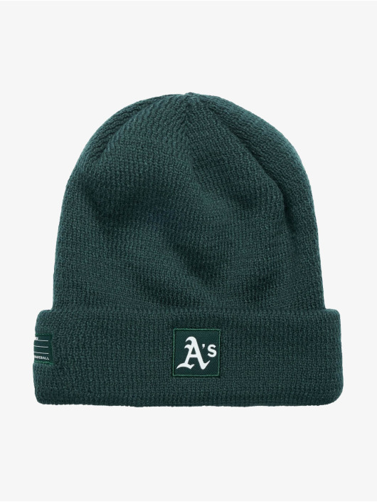 New Era Beanie MLB Oakland Athletics grön