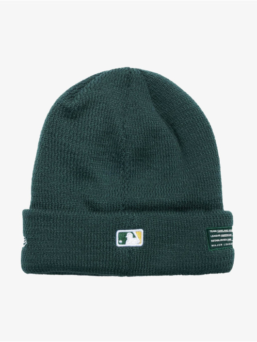 New Era Beanie MLB Oakland Athletics groen