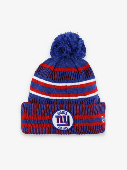 New Era Beanie NFL NY Giants Onfield Cold Weather Home modrá