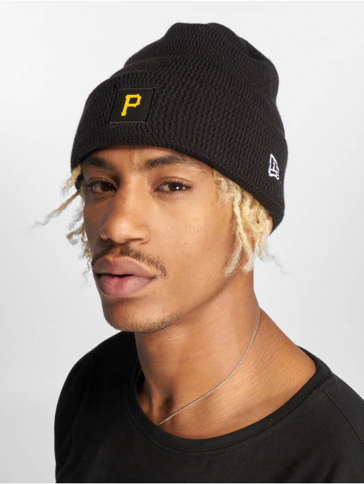 New Era Beanie MLB Pittsburgh Pirates negro