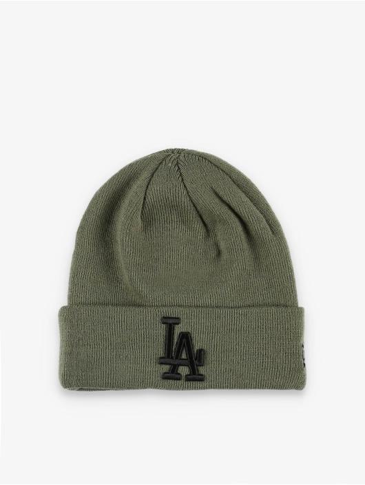New Era Beanie MLB LA Dodgers League Essenital olijfgroen