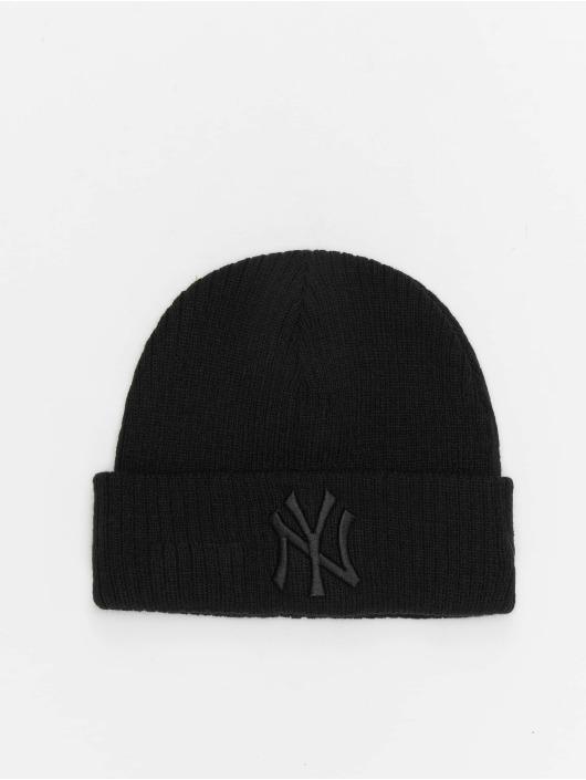 New Era Beanie MLB NY Yankees League Essential Cuff Knit schwarz