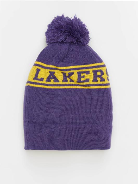 New Era Beanie NBA Team Jake Los Angeles Lakers Cuff violet