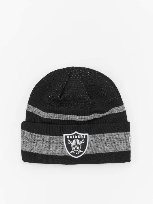 New Era Beanie NFL 21 Las Vegas Raiders Tech Knit zwart