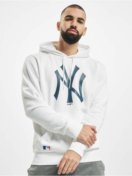 New Era Bluzy z kapturem MLB Infill Logo bialy