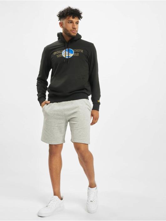 New Era Bluzy z kapturem NBA Golden State Warriors Graphic Overlap czarny