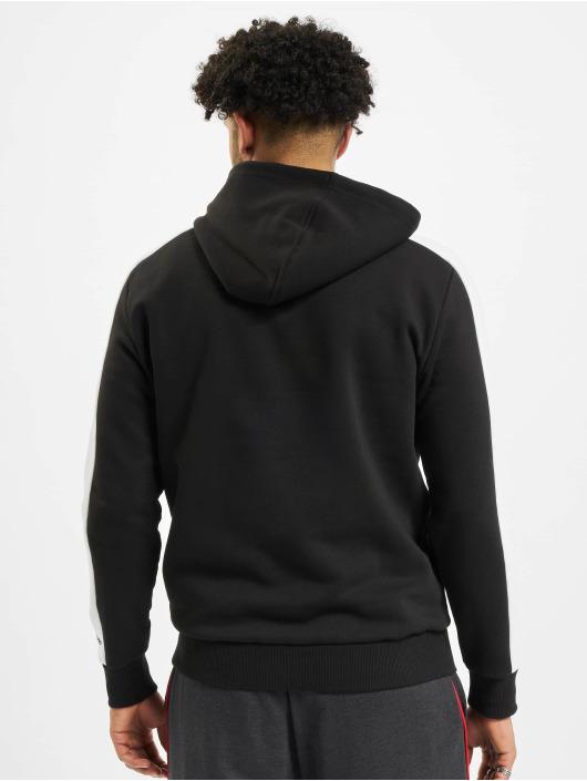 New Era Bluzy z kapturem NBA Chicgo Bulls Colour Block czarny
