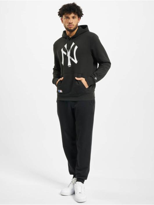 New Era Bluzy z kapturem MLB NY Yankees Team Logo czarny