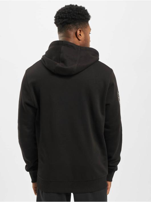 New Era Bluzy z kapturem NFL Oakland Raiders CHST PRNT TM Logo czarny