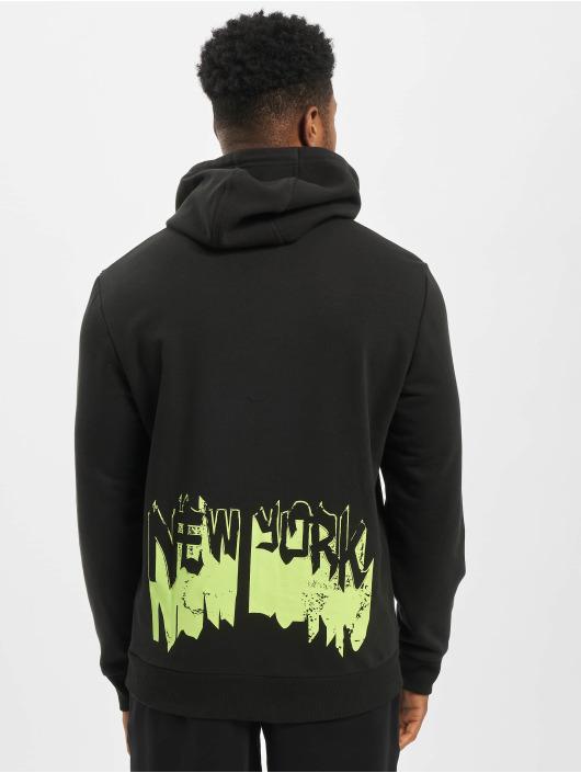 New Era Bluzy z kapturem Graphic Lic Pack czarny