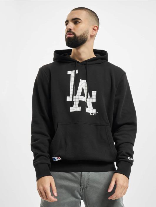 New Era Bluzy z kapturem MLB Infill Logo czarny