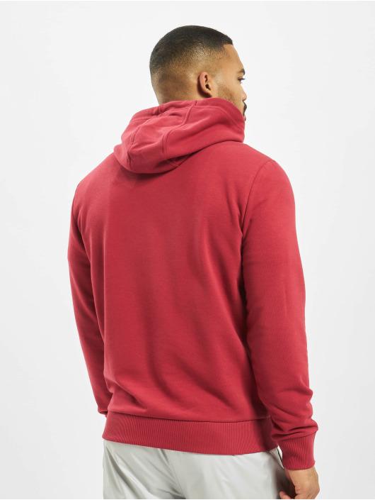 New Era Bluzy z kapturem Essential czerwony