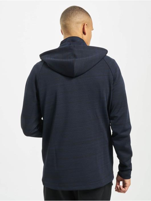 New Era Bluzy z kapturem NFL New England Patriots Engineered Half Zip niebieski