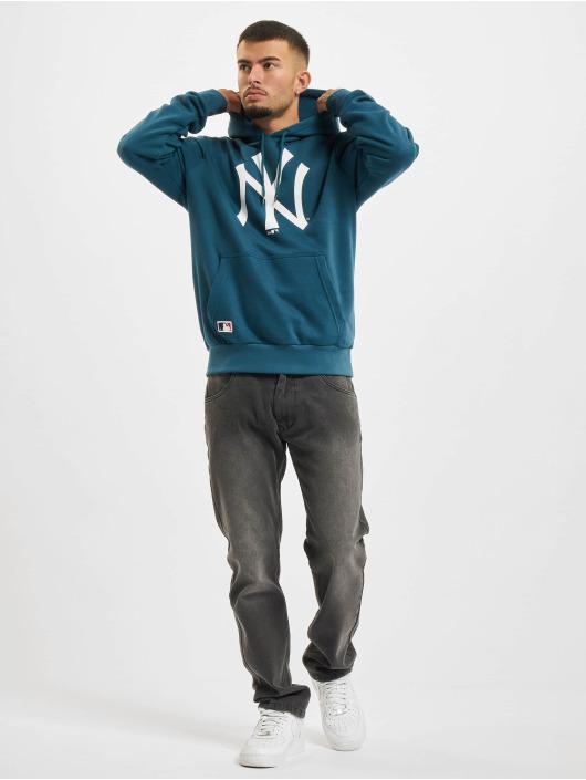 New Era Bluzy z kapturem MLB New York Yankees Seasonal Team Logo niebieski