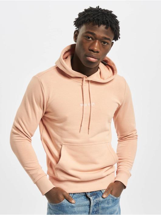 New Era Bluzy z kapturem Essential rózowy