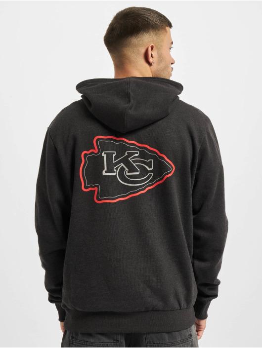 New Era Bluzy z kapturem NFL Kansas City Chiefs Outline Logo PO szary