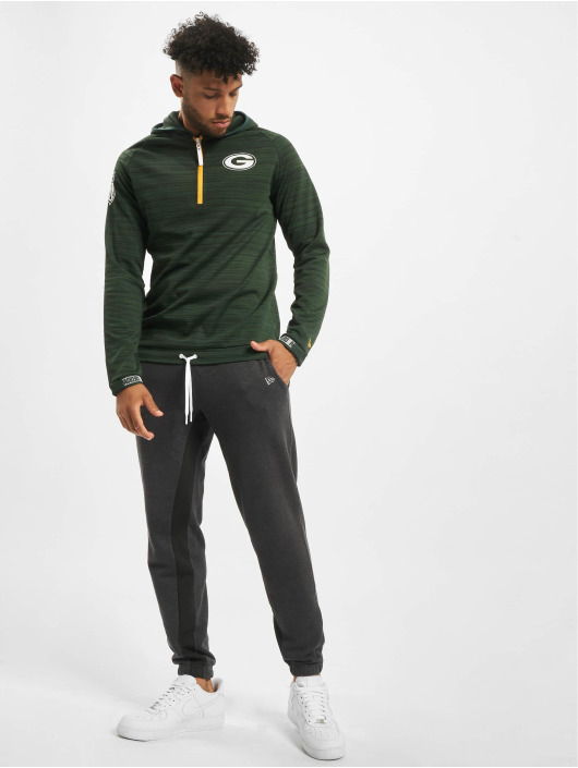 New Era Bluzy z kapturem NFL Green Bay Packers Engineered zielony