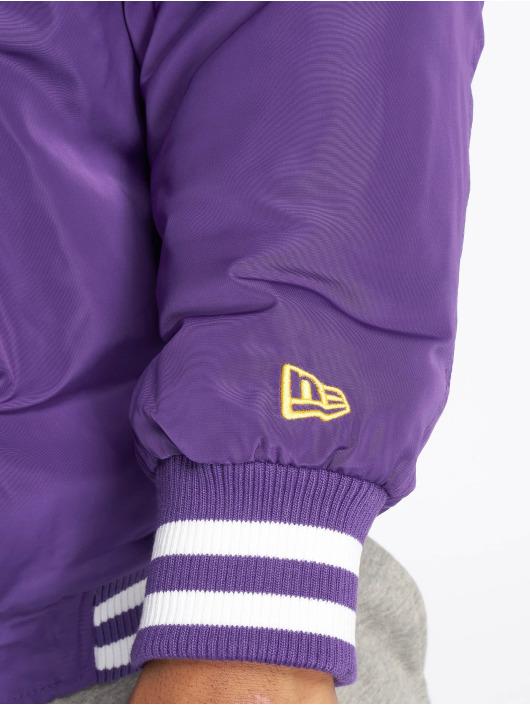 New Era Bomber jacket NBA Team Los Angeles Lakers purple