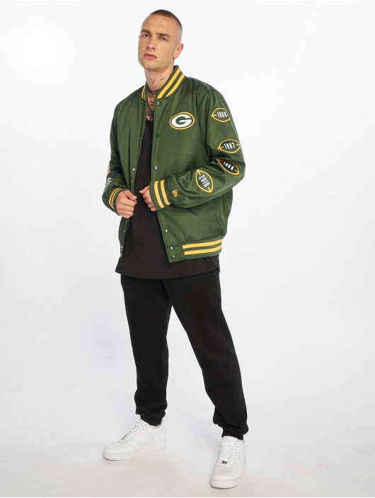 New Era Bomberjacke NFL Packers Champion Greenbay Packers grün