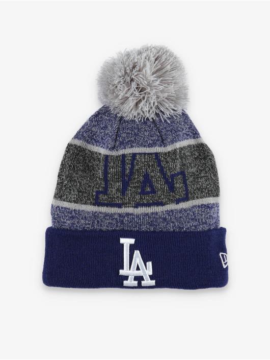 New Era Bonnet hiver MLB LA Dodgers Logo Peek Knit bleu