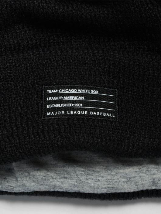 New Era Bonnet MLB Chicago White Sox Sport Knit noir