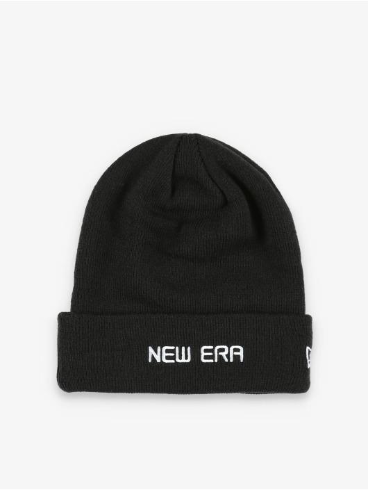 New Era Bonnet Essential Cuff Knit noir