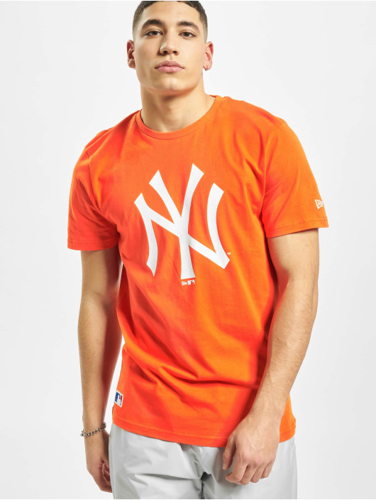 New Era Camiseta MLB NY Yankees Seasonal Team Logo naranja
