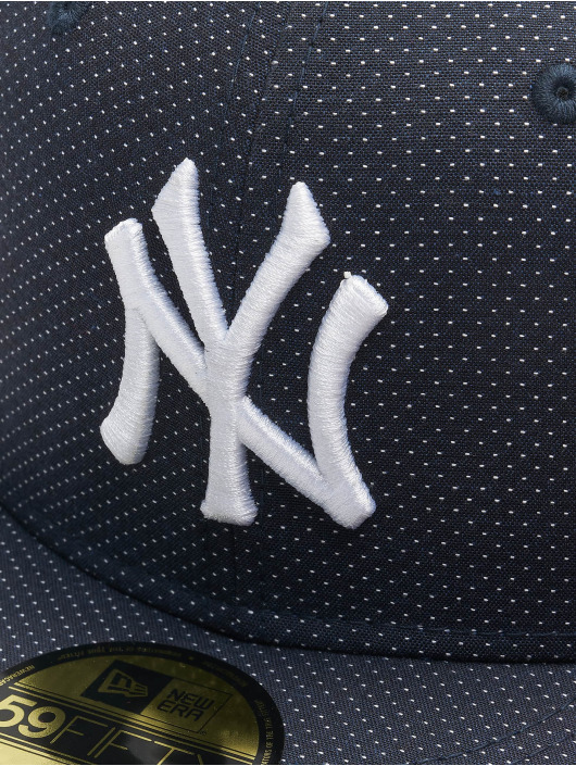 New Era Casquette Fitted MLB NY Yankees Polkadot 59Fifty bleu