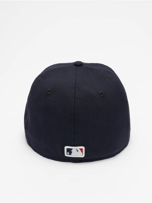 New Era Casquette Fitted MLB New York Yankees Skull 59Fifty bleu