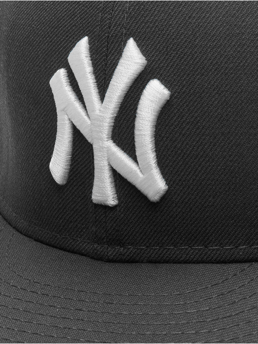 New Era Casquette Fitted MLB Basic NY Yankees 59Fifty gris