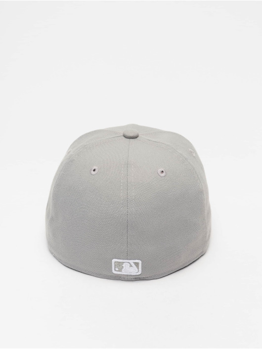 New Era Casquette Fitted MLB Basic LA Dodgers 59Fifty gris