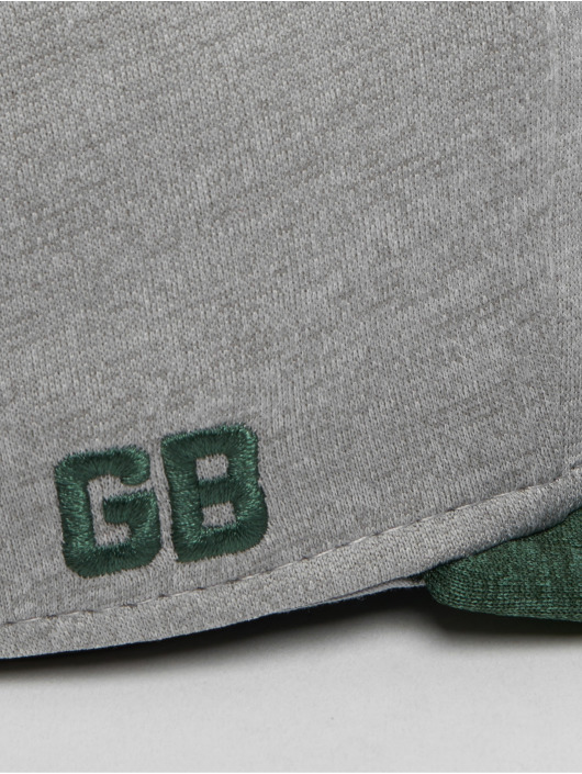 New Era Casquette Fitted NFL Green Bay Packers 59 Fifty gris