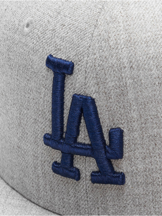New Era Casquette Fitted MLB LA Dodgers 59Fifty gris