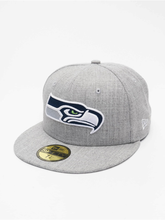 New Era Casquette Fitted NFL Seattle Seahawks 59Fifty gris
