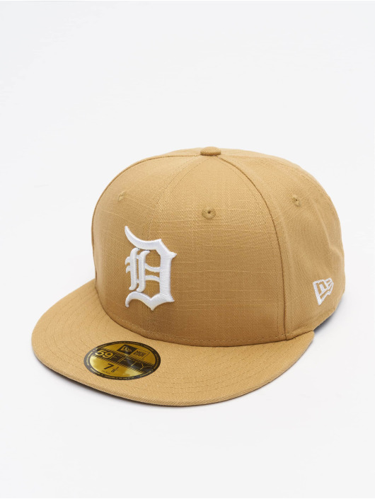 New Era Casquette Fitted MLB Detroit gris
